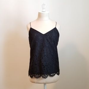 JCrew Carrie Lace Cami